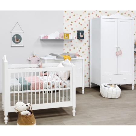 Bopita Belle 3 delige babykamer sfeer