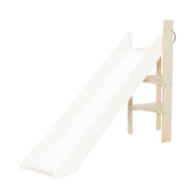 Lifetime Halfhoogslaper Met Glijbaan.Lifetime Ladder Voor Glijbaan Whitewash Sterre Tijl