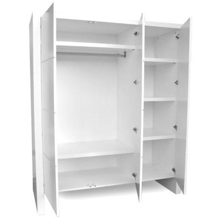 Woodwork Jules 3-deurskast1
