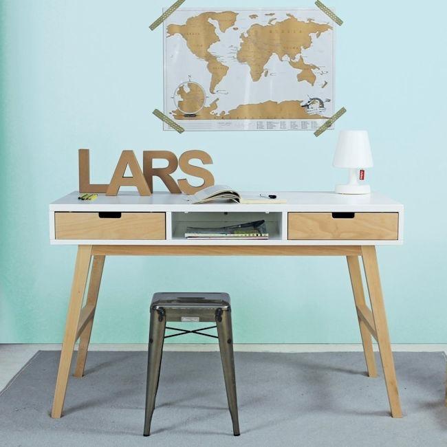 Bureau Scandinavisch Design.Bopita Lynn Bureau In Scandinavisch Design Sterre En Tijl Kinderwinkel