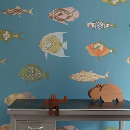 Inke 2100 vissen donkerblauw