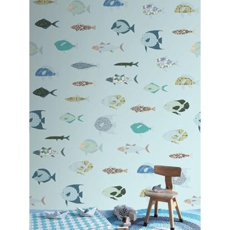 Inke 2105 vissen blauw