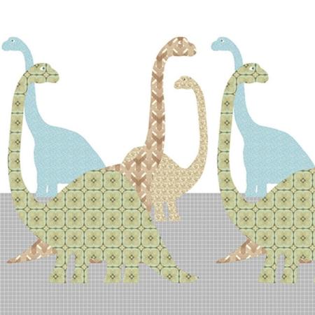 Inke muurprint Dino 080