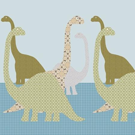 Inke muurprint Dino 103
