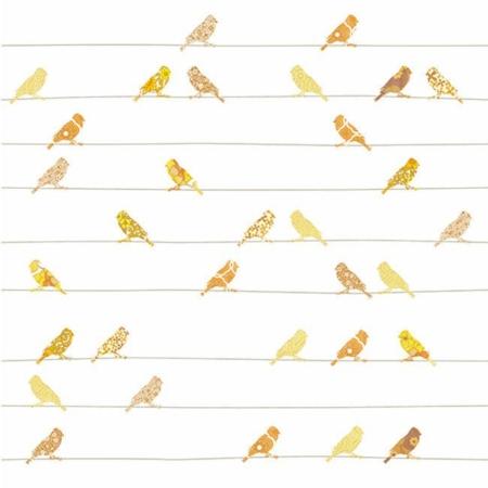 Inke2032 vogels geel staal