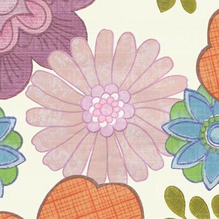 Inke2050 bloemenmix wit staal