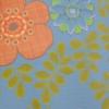 Inke2053 bloemengroenmix blauw staal