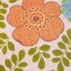 Inke2055 bloemengroenmix roze staal