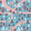 Inke2092 bospad roodblauw staal