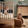 Leander Linea 2 delige babykamer eiken sfeer