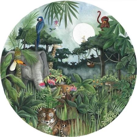 Behangcirkel Regenwoud