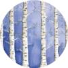 Behangcirkel Witte Woud