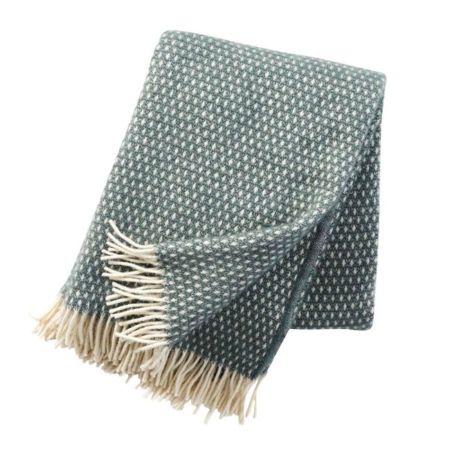 Klippan plaid Knut Baslam Green