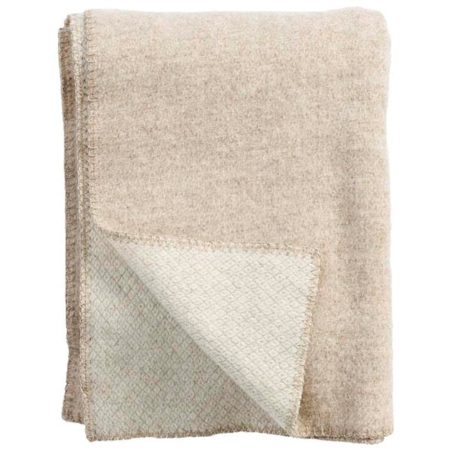 Klippan plaid Peak Natural Beige