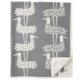 Chenille katoenen deken Shore Birds