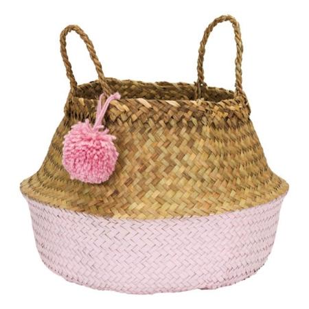 Kidsdepot mand Pompon L pink