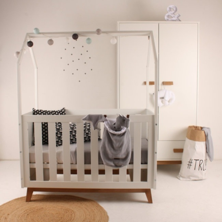 Happy Baby hemelbed New Vintage sfeer