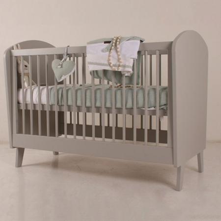 Happy Baby ledikant Daan grijs sfeer