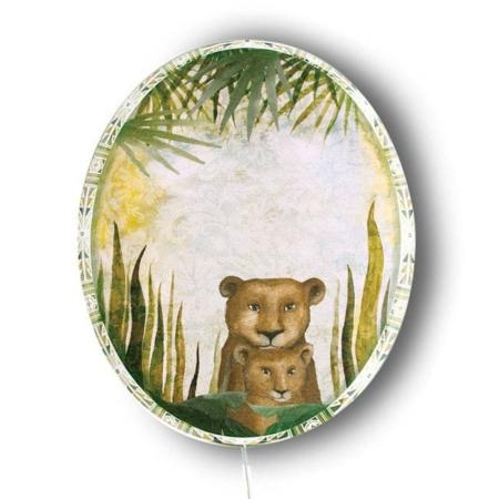 Wandlamp Lieve Leeuw uit