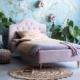 Gestoffeerd bed Lisa Sweet Blossom sfeer