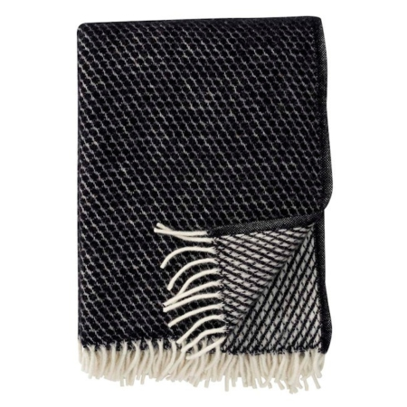 Klippan plaid Velvet black