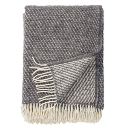 Klippan plaid Velvet grey