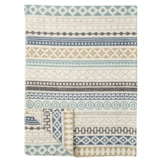 Klippan deken Wera blue