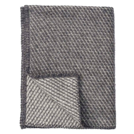Klippan deken Velvet grey