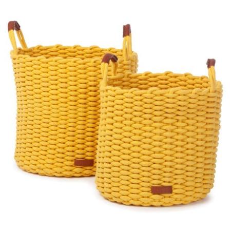 Kidsdepot Korbo set L geel