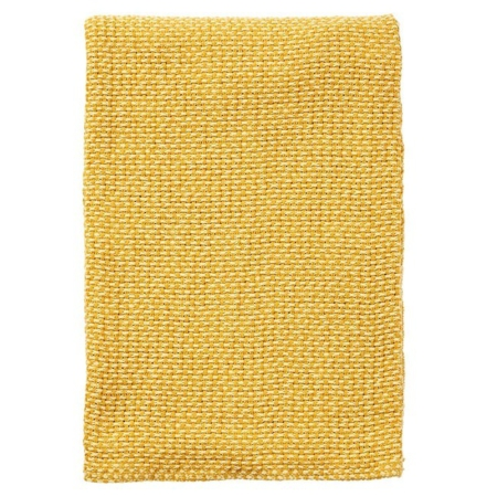 Klippan plaid Basket Yellow