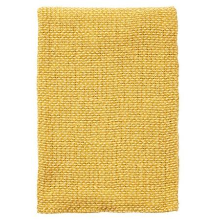 Klippan plaid Basket Yellow