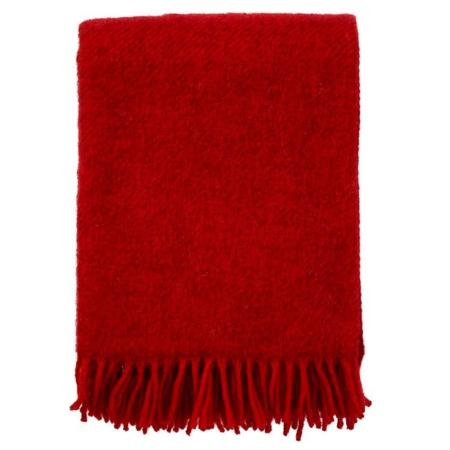 Klippan plaid Gotland red