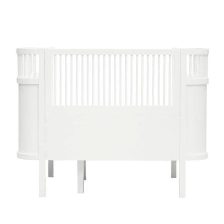 Sebra Harlequin Babybed white