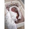 Sebra Harlequin Babybed white sfeer