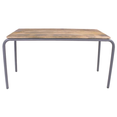 Kidsdepot Original tafel hout metal grey