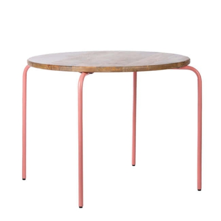 Kidsdepot Circle table pink