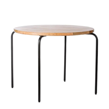 Kidsdepot Circle table black