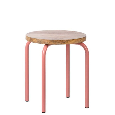 Kidsdepot Circle stool pink