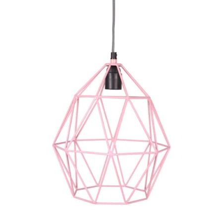 Kidsdepot Wire hanglamp pink
