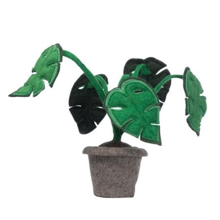 Kidsdepot vilten plant monstera