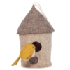 Kidsdepot vilten vogelhuisje mus