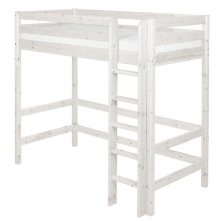 Flexa classic hoogslaper rechte trap whitewash
