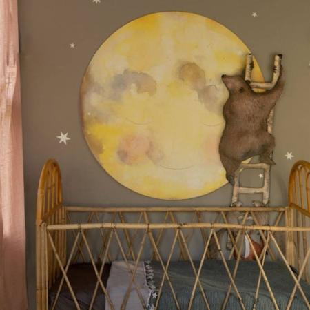 Hartendief behangcirkel Maankus sfeer2