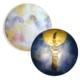 Hartendief wandlamp Maankus