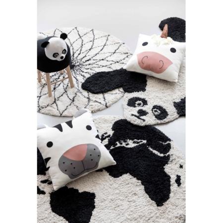 Kidsdepot vloerkleden black-white_sfeer