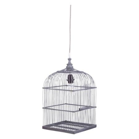 Kidsdepot hanglamp Birdy grijs