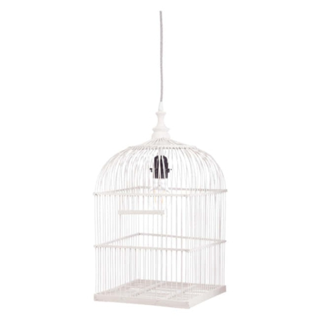Kidsdepot hanglamp Birdy wit