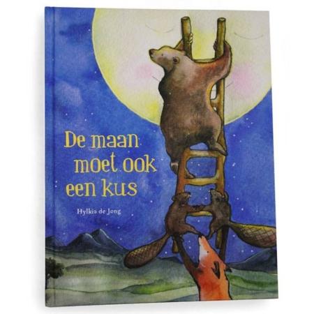 Hartendief boek De maan moet ook een kus