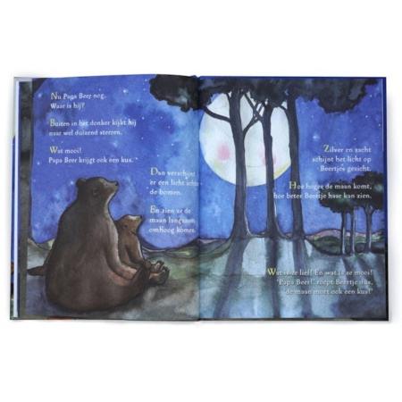Hartendief boek De maan moet ook een kus2