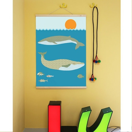 IKPO003 Inke poster walvis